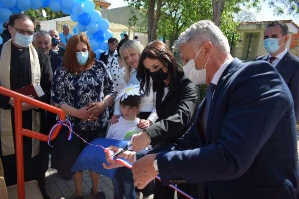 Ministrica Marija Vučković svečano otvorila novi dječji vrtić u Turnju vrijedan 9.142.633,06 kn