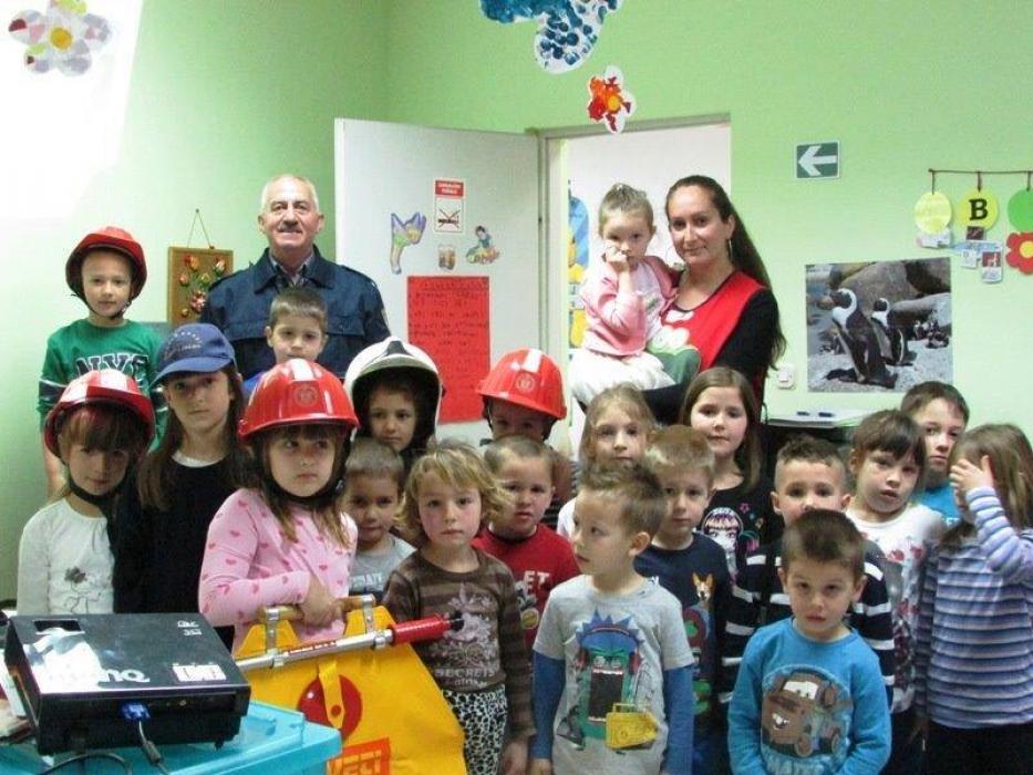 DVD Sv. Filip i Jakov održao je predavanja djeci u vrtiću Cvitić Turanj