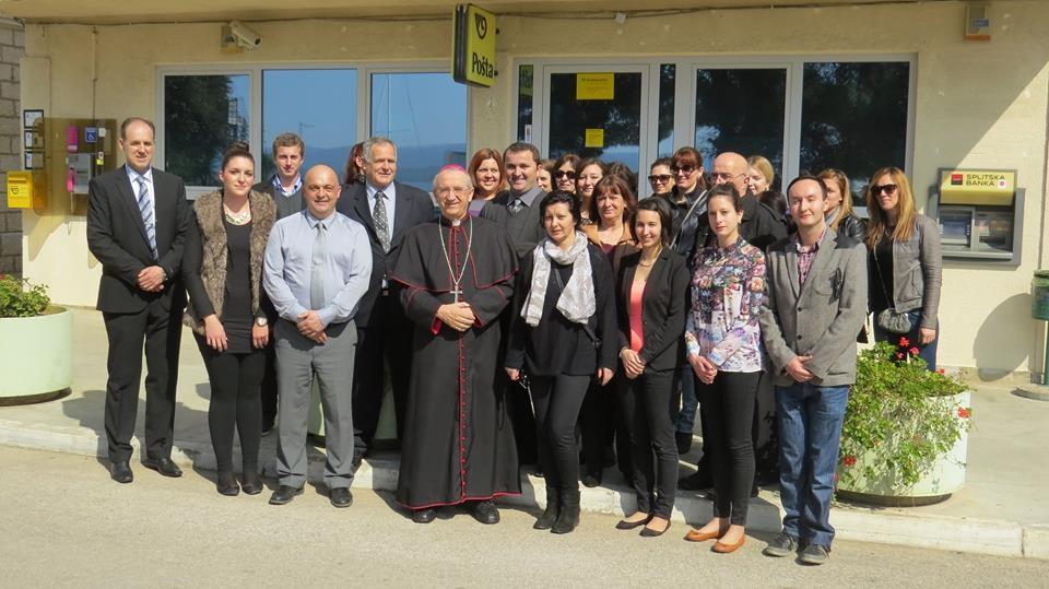 Posjet nadbiskupa Želimira Puljića Općini Sveti Filip i Jakov.