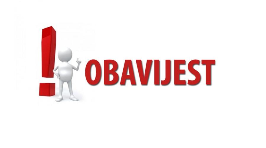 OBJAVA BIRAČIMA - Poziv biračima pripadnicima nacionalnih manjina