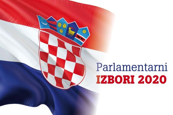 LINK - Rezultati izbora za zastupnike u Hrvatski sabor 2020. godine