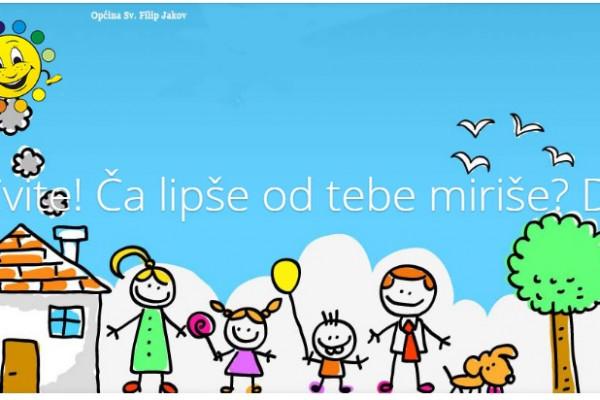 "O G L A S  za upis djece u  dječji vrtić  "" Cvit "" Sv. Filip i Jakov"