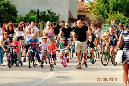 Europski tjedan mobilnosti 2015. i u Općini Sveti Filip i Jakov
