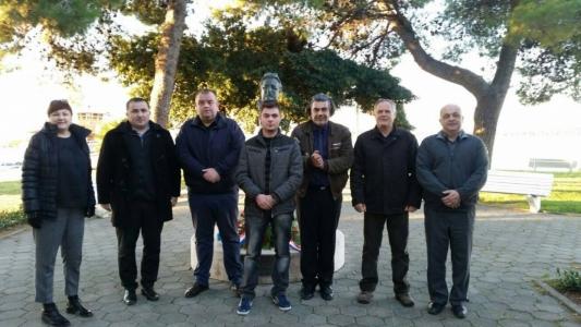 Polaganje vijenaca u spomen dr. Franji Tuđmanu