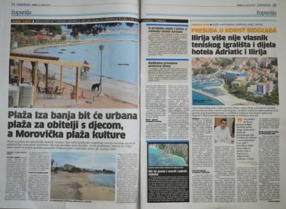 Ministarstvo turizma odobrilo 400.000,00 kuna za uređenje plaža u Svetom Filip i Jakovu i Turnju