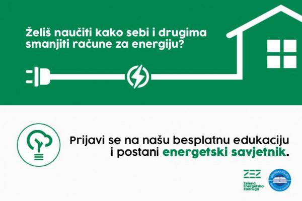 Otvorene su prijave na program usavršavanja za energetske savjetnike