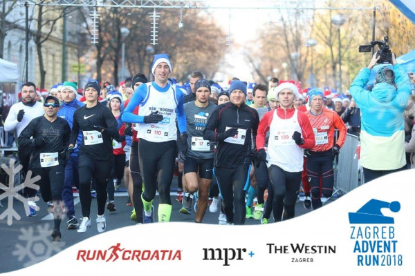 """Ivan Pikunić osvojio 5. mjesto na """"Zagreb Advent Run 2018"""""""