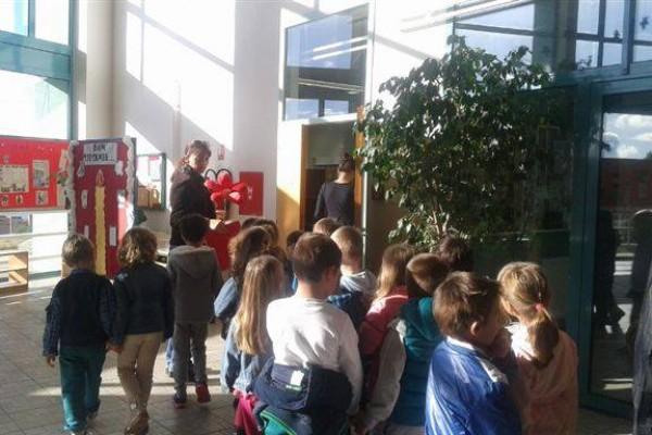 Dječji vrtić Cvit u posjeti osnovnoj školi