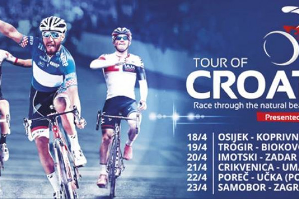 """Tour of Croatia"" - promet obustavljen od 14:40 do prolaska utrke"