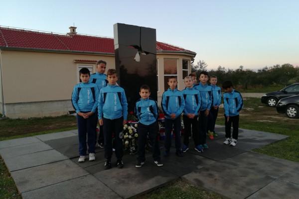 NSK Nova Zora u posjetu Škabrnji