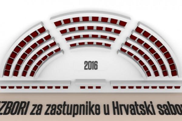 Izbori za zastupnike u Hrvatski sabor će se održati 11.09.2016.