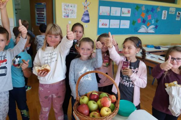 Obilježavanje Dana jabuka U OŠ Sv. Filip i Jakov