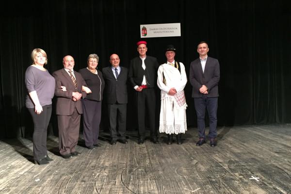 KUD Sv. Roko na proslavi obnove rada Čitaonice mohačkih Šokaca