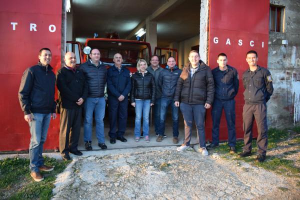 DVD Sv. Filip i Jakov primio donaciju opreme iz Austrije
