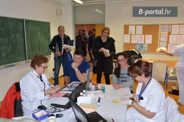 Održana prva ovogodišnja akcija darivanja krvi u Sv. Filip i Jakovu: Prikupljeno 28 doza, odazvalo se 55 darivatelja krvi