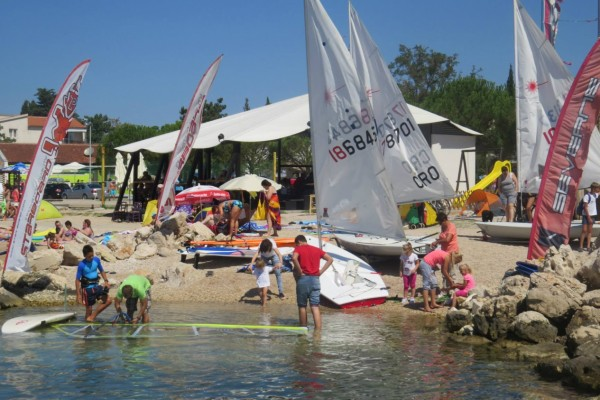 Državna regata jedriličara u klasi optimist ''Sv. Roko''