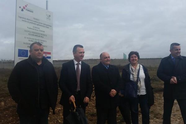 """Otvoren projekt: """"Izgradnja dijelova sustava javne vodoopskrbne mreže na području aglomeracije Zadar"""""""