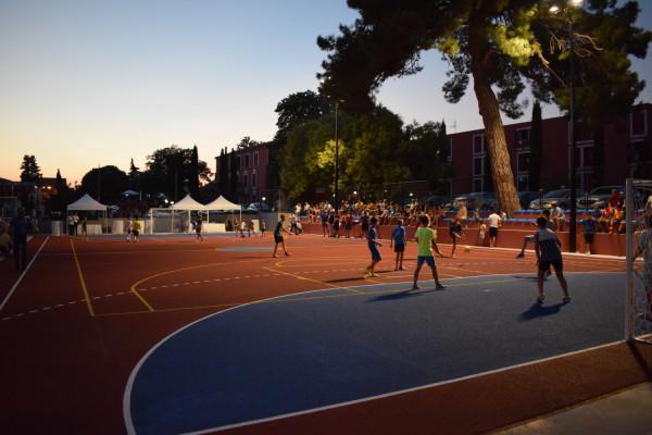 """U Sv. Filipu i Jakovu svečano otvoreno rekonstruirano igralište malih sportova """"Kod Bunara"""""""
