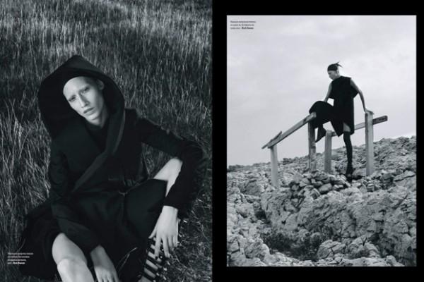 Filipjanci Jakov Baričić i Martin Brkljača - Vogue - Ukrajinsko izdanje za mjesec studeni 2015.