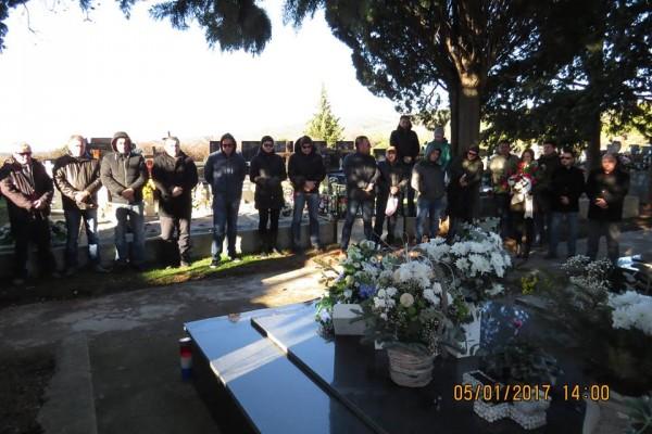 Odana počast Danijelu Mandiću, hrvatskom branitelju i heroju Domovinskog rata