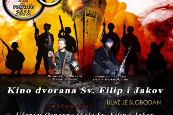 """Glazbeno-scenski spektakl """"Bitka za Vukovar – Kako smo branili grad i Hrvatsku"""""""