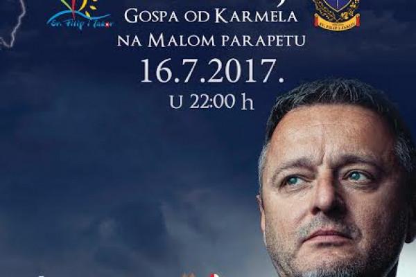 Marko Perković Thompson za Gospu od Karmela u Turnju!