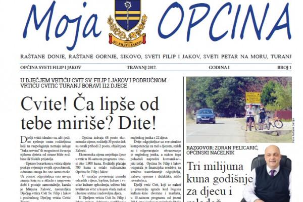 Novinsko izdanje MOJA OPĆINA!